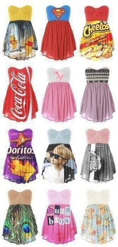 awesomeness!!!! I would never actually wear any of these