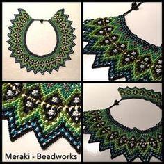 Meraki _ Necklace. Beadworks - Hamburg, Germany. Ethnic inspiration. #beadworks #bead #necklace #hamburg #perlen #schmuck #Meraki_beadworks