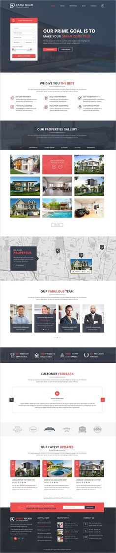 HouseRent - Multi Concept House, Apartment Rent HTML Template - house for rent template