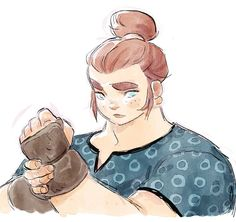 Lydie. #comicbook #characterdesign #roundone #powerstone #ginger