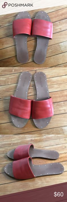 MADEWELL Slide Sandals Size 8