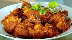 Dry Chicken Curry Recipe