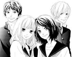 Io sakisaka's new manga in June 2015 Omoi Omoware, Furi, Furare