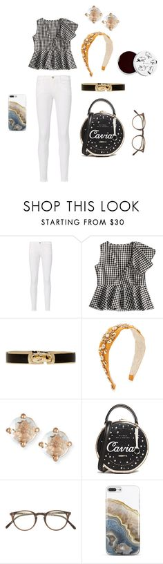 """WORSHIP 6"" by bhgrace ❤ liked on Polyvore featuring Frame, Marc Jacobs, Namrata Joshipura, Suzanne Kalan, Kate Spade, Oliver Peoples, Nanette Lepore and too cool for school"
