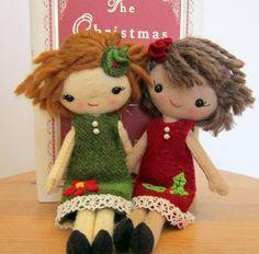 Cloth Doll Handmade.... adorable dolls