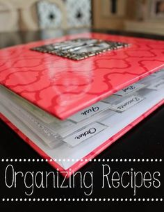 I finally found the perfect way to organize my recipes! For more details, follow the link below.