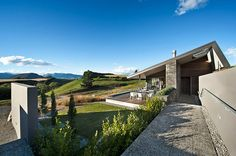 The Marmol Radziner architecture firm has completed a new private home in Mt. Barker, New Zealand