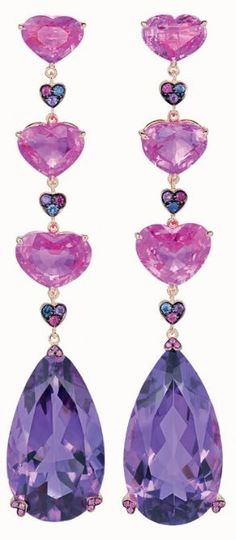 Rosamaria G Frangini | High Purple Jewellery | Choppard