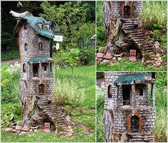 5 Creative Ideas to Decorate with Tree Trunks or Stumps - http://www.amazinginteriordesign.com/5-creative-ideas-home-decor-tree-trunks-stumps/