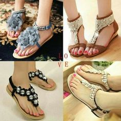 Summer is almost here What A Girl Wants, Flats, Sandals, My Wardrobe, Wardrobe Ideas, Flip Flops, My Style, Fashion Shoes, Summer