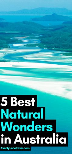 Planning a trip to Australia? Here are some of the best places to visit in the land down under! 5 of the Most Beautiful Natural Wonders in Australia! Read the full article on Avenlylanetravel.com