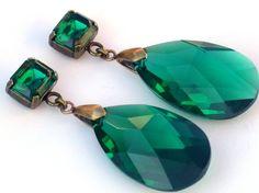 emerald earrings   # Pin++ for Pinterest #
