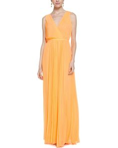 Halston Heritage nectar colored
