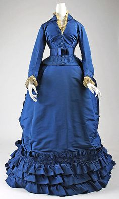 1870 dress (The Metropolitan Museum of Art)