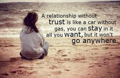 A friendship needs trust
