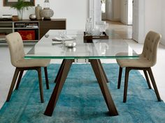 Bontempi Casa Aron Extendable Dining Table by R&D Bontempi - Chaplins