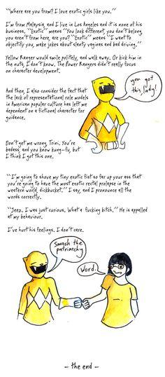 What Would Yellow Ranger Do? (comic by Shing Yin Khor, 8/8)