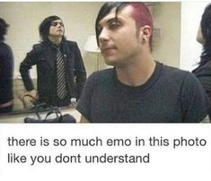 Image about emo in My Chemical Romance by IsaTame Image about emo in My Chemical Romance by IsaTame,My Chemical Romance and Gerard Way mcr, emo, and frank iero Bild Related posts:Mein einfaches Rezept für. Emo Band Memes, Mcr Memes, Emo Bands, Music Bands, Music Memes, My Chemical Romance, Gerard Way, Music Stuff, My Music
