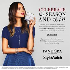 Click on this link and submit your favorite look from the PANDORA Jewelry Collection and you could win all four styles! #ArtofYou #StyleHunters