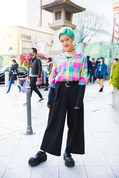 Tokyo Fashion Week's Best Street Style Beauty Is All in the Hair