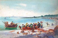 Pêcheurs sur la Promenade des Anglais