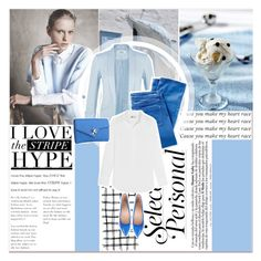 """Blue Sensation"" by lucky-1990 ❤ liked on Polyvore featuring Miss Selfridge and J.Crew"