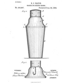 The first 3 piece cobbler cocktail shaker set was patented in 1884 and is still the standard today. Get the details and see why this bartending tool is a home bar must for mixing drinks at http://homebars.barinacraft.com/post/35860525525/cobbler-cocktail-shaker-set