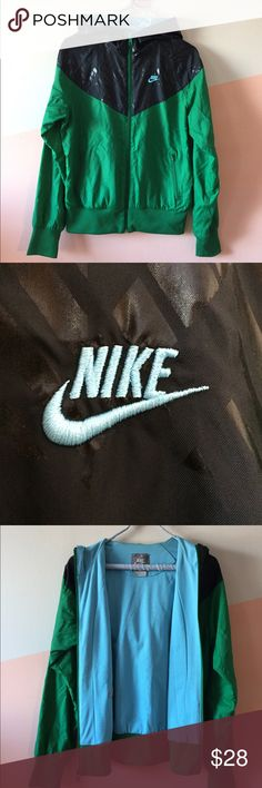 NIKE RETRO WIND BREAKER JACKET Gently worn Nike Jacket. Minor tear in the arm pit as shown in picture, easily fixable. Nike Jackets & Coats