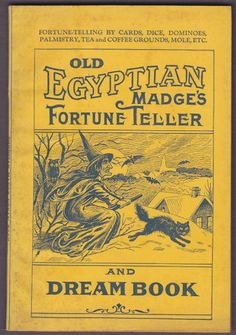 Old Egyptian Madge's Fortune Teller And Dream Book Circa 1920s | eBay
