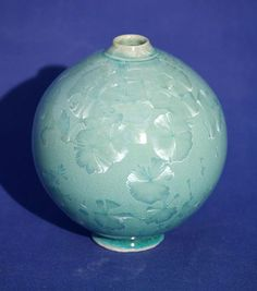 Ceramics by Peter Cosentino at Studiopottery.co.uk - 2013. Turquoise crystalline