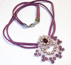 Wire Crochet Pendant | JewelryLessons.com