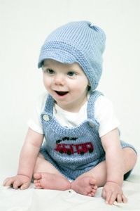 mr. conductor overalls and hat...FREE PATTERN