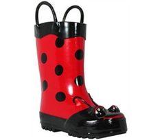 Ladybug Gumboots