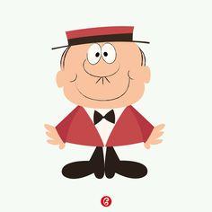 Bruno Bozzetto – Grafica  3 Marzo 1938 – Nasceva Bruno Bozzetto. Animatore, disegnatore e regista italiano. Autore di alcuni lungometraggi animati e numerosi cortometraggi, molti dei quali vedevano come protagonista il suo Signor Rossi. Every Day – GELATINA DESIGN