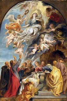 Вознесение Девы Марии 1620-25.Питер Пауль Рубенс