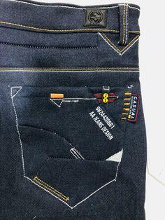 Denim Jeans Men, Boys Jeans, Casual Jeans, Jeans Style, Denim Vintage, Only Jeans, Patterned Jeans, Denim Fabric, Men's Denim