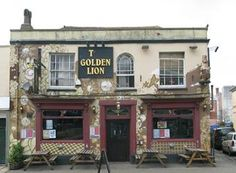 golden lion bristol Gloucester Road, Golden Lions, Pub Crawl, Bristol, England, Mansions, House Styles, Ideas, Mansion Houses