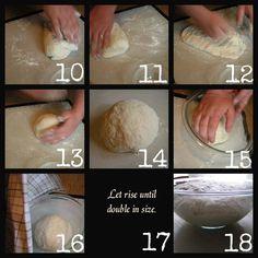 The Best Homemade Pizza Dough {photo tutorial}