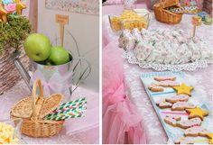 fiesta hadas mesa dulce