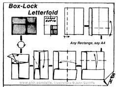 Envelope and Letter Folding: Box-Lock Letterfold