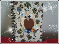 Caderno coruja by Leozinha Docinho, via Flickr