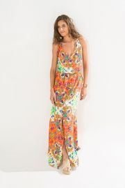 vestido longo vazado
