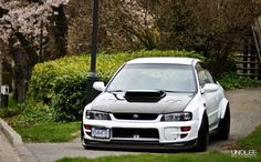 Subaru Impreza GC8 jaw... just.... dropped... its almost exactly what i want to do to my 07!