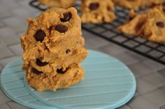 Grain Free Peanut Butter Cookies.  These are healthy thanks to a secret ingredient!