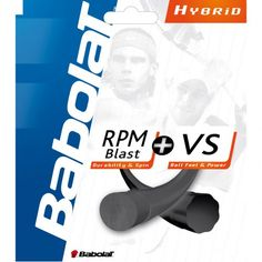 RPM Blast + VS Hybridsaite Tennissaitenset - schwarz, schwarz