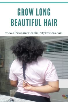 Don't let your Hair becomes dry, dull, and frizzy. Let it grow using oil combo. Natural Hair Growth, Natural Hair Styles, Beautiful Long Hair, Curly Girl, Your Hair, Curly Hair, Natural Hair Growing