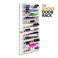 Skoställ för dörr 36 par skor - Vippon.com - Hjälpmedel åt alla i vardagen.