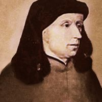 Johannes Ockeghem 1410/1425 –1497 He was famous well known composer from the Franco-Flemish School (Netherlands). He was also was an honored singer, choirmaster and teacher.  He traveled on tour to Spain, Germany, France and others and served Kings and Dukes with his music, and famous throughout Europe for his expressive music.