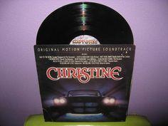 Rare Vinyl Record Christine Original Soundtrack LP 1983 John Carpenter Horror Classic Stephen King Buddy Holly Motown