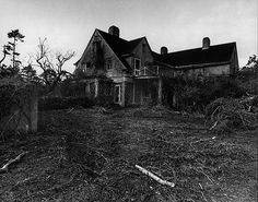 Grey Gardens in Disrepair. I'm fascinated with this house and its story.